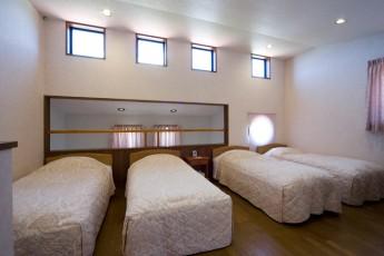 コテージ2F寝室